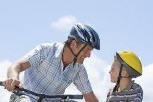 Bike riding is a great family-bonding activity.