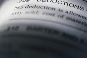 If your income is too high, you might not qualify for some deductions.