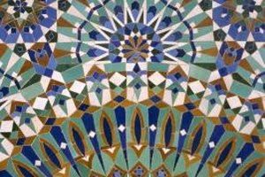 dominant color in islamic art & architecture | our everyday life