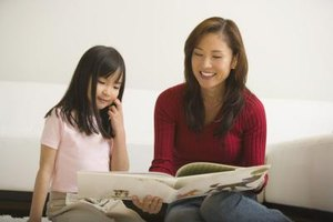 Reading with your child can help you identify dyslexia.