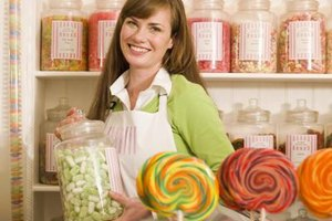Candy brings a smile to your customer's face.