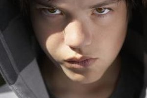 Help your teenager find suitable words to express his anger and frustration.
