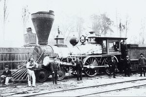 When Did the First American Railroad Open for Business?