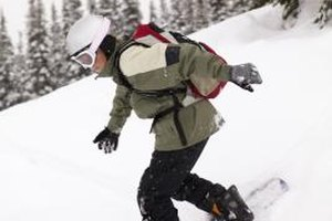 Snowboarding is a teen-friendly winter activity.