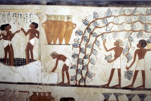 What Kinds of Foods & Drinks Were Served at Banquets in Ancient Egypt?