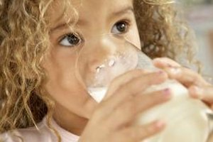 Milk can cause health problems that lead to behavior changes in toddlers.