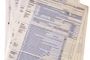 What Tax Forms Do I Use to File With a W-2 & 1099-MISC?