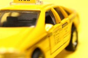 Taxi cabs help passengers reach their destinations.