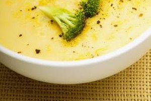 Prepare cream soups hours in advance by stabilizing the mixture of ingredients.