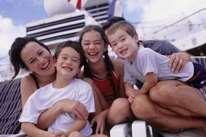 Many cruises have your whole family in mind.