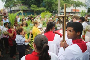 Catholic Church's Disposal of Blessed Palms