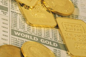 Gold stock or bullion bars and coins offer investors varying levels of investment security.
