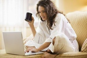 Some freelance writers are able to work from home, which is known as telecommuting.
