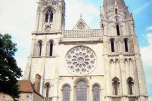 Chartres was one of the few French cathedrals that remained intact during the Revolution.