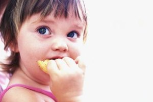 Eating techniques indicate how well a child is developing physically.