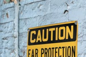 Federal law requires the posting of warning signs in workplaces.