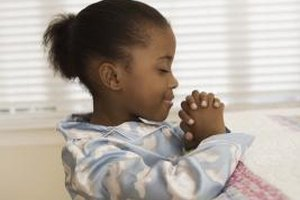 Recited prayers help your child learn to pray regularly.