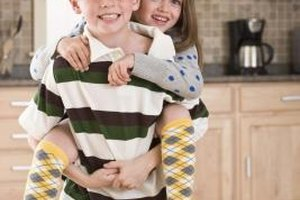 Bonding activities can help turn sibling rivalry into sibling friendship.
