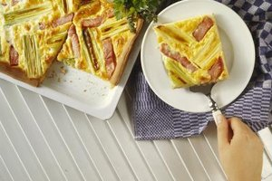 Quiche bakes well in pans of all shapes and sizes.