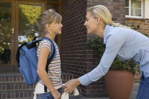 Children benefit when parents take an interest in school.
