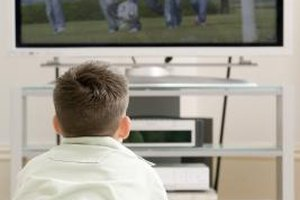 Researchers say television viewing should be limited to the weekends.