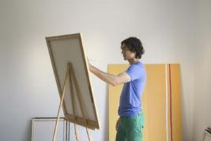Fine arts students are often expected to prepare an exhibition of their works.