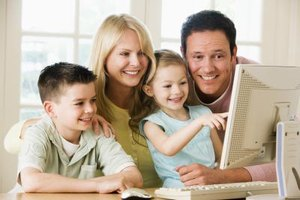 Adult supervision offers the best Internet security to keep kids safe online.