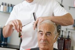 Barber shop owners earn more as they get repeat business from clients.