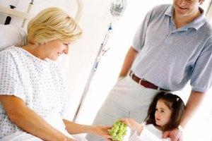 Children may feel responsible for a dying parent's condition.