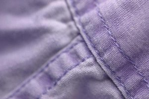 Colored cottons require special care to prevent fading and bleeding.