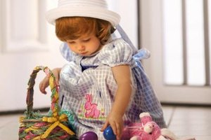 Your toddler will love an Easter basket created just for her.