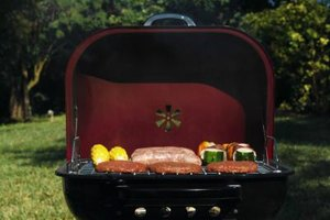 Smoke the steak in a grill with a lid.