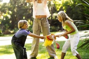 Help to eliminate -- or at least reduce -- sibling fights by encouraging teamwork.