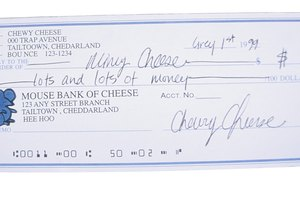 How to Cash a Check for a Child