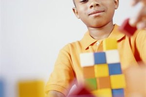 Blocks can be an excellent tool for pattern activities at home.