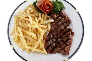 Steak with fries can be gourmet or down-home fare at your restaurant.