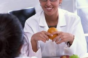 Dietitians advise patients on which foods are best.