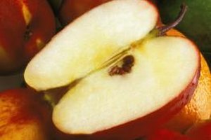 Keep apples looking fresh by using an acidic solution.