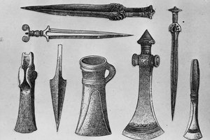Tools & Weapons Created During the Bronze Age
