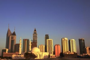 Dubai is a major center for Islamic finance.