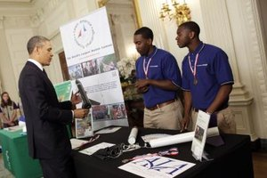 Local science fair winners may get to attend the White House science fair.