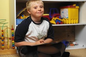 Children with Down syndrome are sometimes placed in inclusive classroom settings.