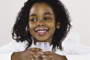 Children need the calcium and vitamin D in milk to grow taller.