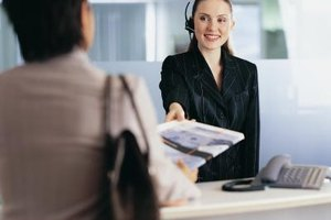 Consultants help businesses improve customer relations.