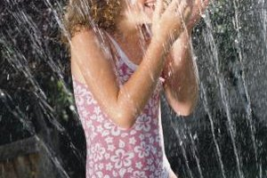 There's a spray park in Hickory Hills where kids can keep cool in the summer.