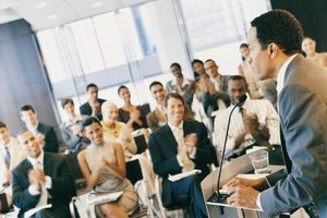 Give a speech on a topic related to your industry to attract qualified candidates.