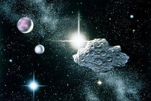 Asteroids have large amounts of kinetic energy since they travel at high velocities