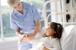Pediatric physical therapists help children to recover from medical procedures.