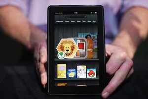 How to Turn a Kindle Fire to English Settings