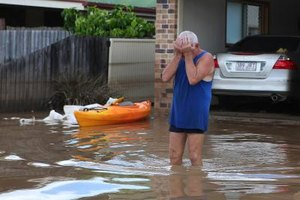 Homeowners insurance does not cover floods; flood insurance does.
